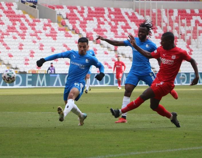 Süper Lig: DG Sivasspor: 0 - BB Erzurumspor: 0 (Maç sonucu)