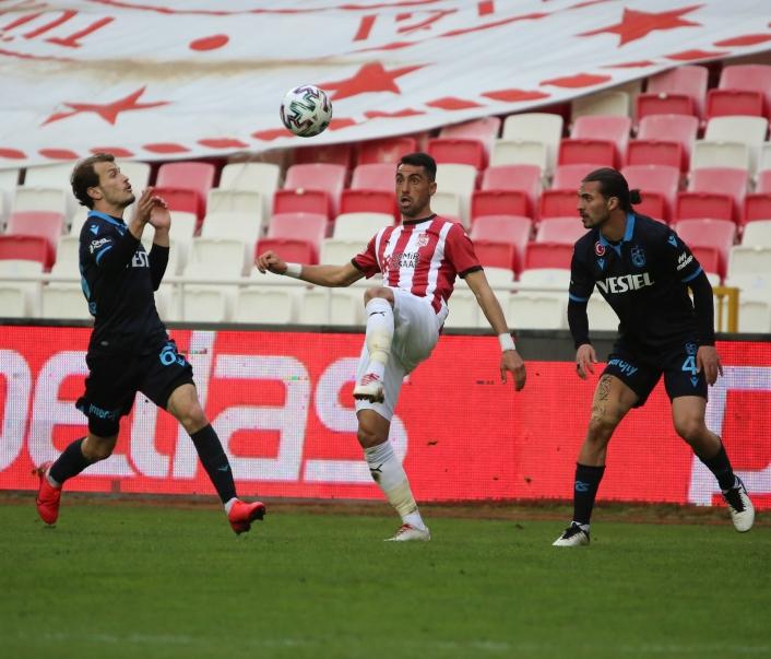 Süper Lig: DG Sivasspor: 0 - Trabzonspor: 0 (Maç sonucu)
