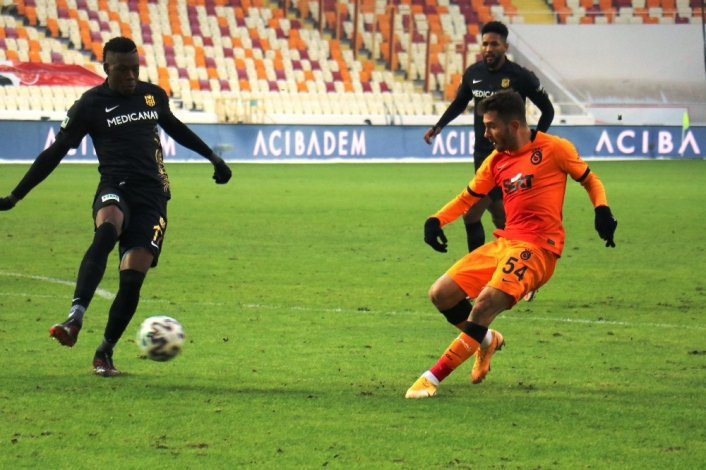 Süper Lig: Yeni Malatyaspor: 0 - Galatasaray: 1 (Maç Sonucu)