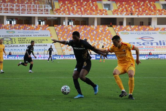 Süper Lig: Yeni Malatyaspor: 1 - Kayserispor: 1 (Maç sonucu)