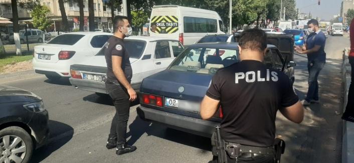 Şüpheli otomobil polis ekiplerini harekete geçirdi