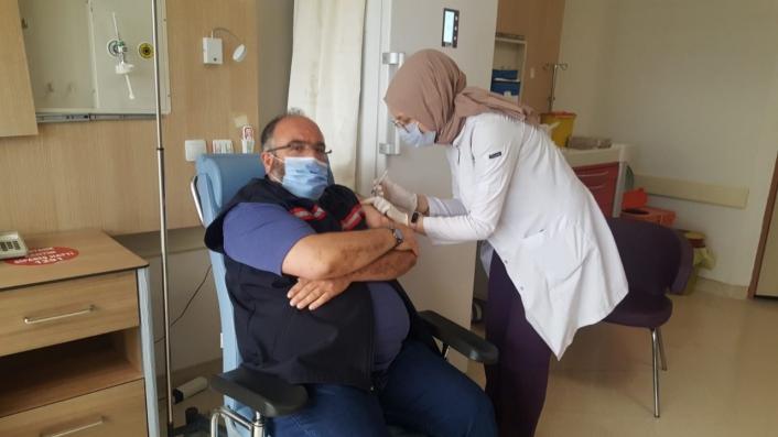 Suşehri´nde Aşıya yoğun ilgi