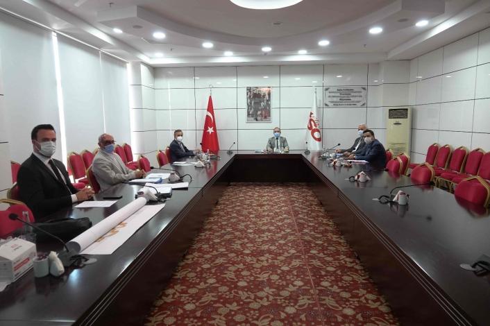 TEKNOVA OSB Yönetim Kurulu Toplantısı Elazığ TSO´da gerçekleştirildi