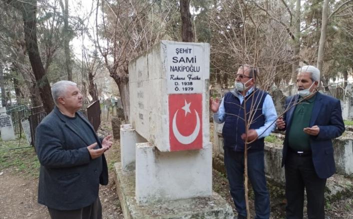 Terörist Sabri Ok tarafından şehit edilen Gazeteci Sami Nakipoğlu anıldı