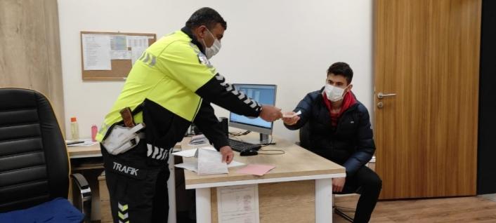Trafiği tehlikeye atan sürücüye cezai işlem