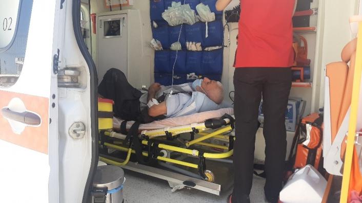 Türbeyi soymak isteyen hırsız yaşlı adamı vurdu