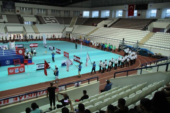 Türkiye Gençler Ferdi Boks Şampiyonası Elazığ´da başladı