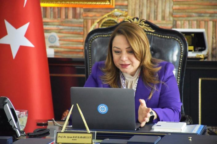 Türkiye Ulusal Ajans Başkanı Astarcı MTÜ´ye konuk oldu