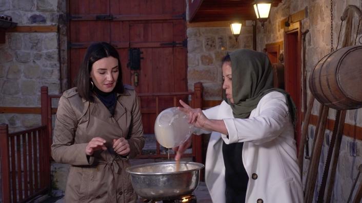 Türkücü Sevcan Orhan, Mutfak Müzesine hayran kaldı