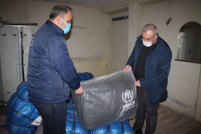 UNHCR, Sivas´ta 425 aileye yardım yaptı
