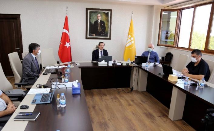 Üniversite şehir iş birliği ele alındı