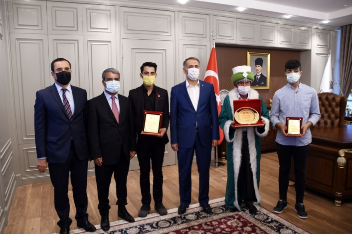 Vali Mahmut Çuhadar´a Ahilik Haftası ziyareti