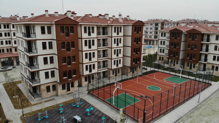 Yarım asırlık evlerden yeni konutlara Elazığ´da dönüşüm sürüyor