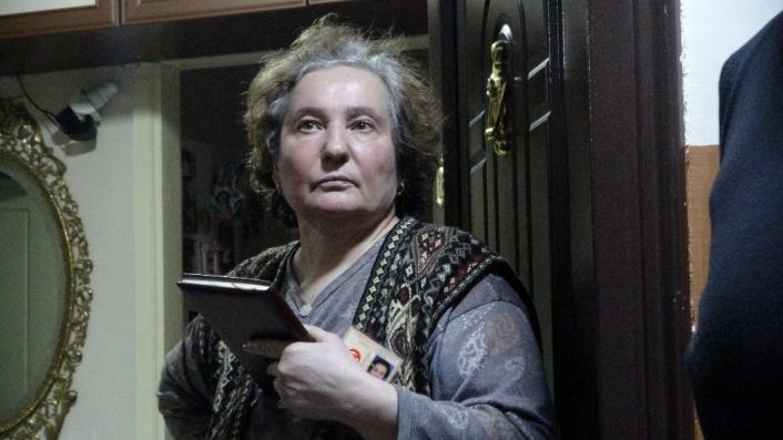 Yaşlı kadını