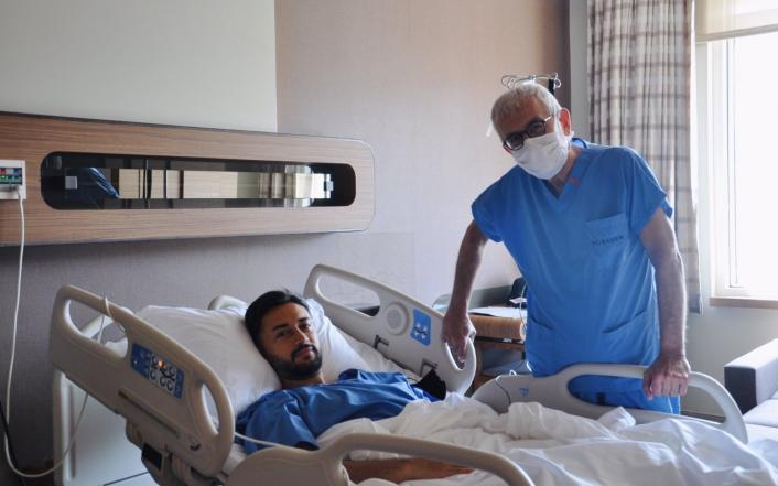 Yeni Malatyaspor´da Nuri Fatih Aydın ameliyat oldu