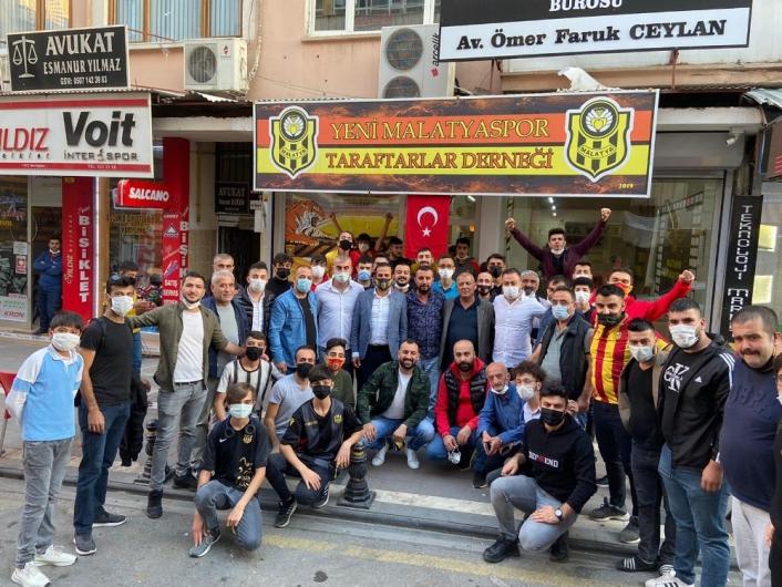 Yeni Malatyaspor Kulüp Başkanı Gevrek´ten teşekkür ziyaretleri