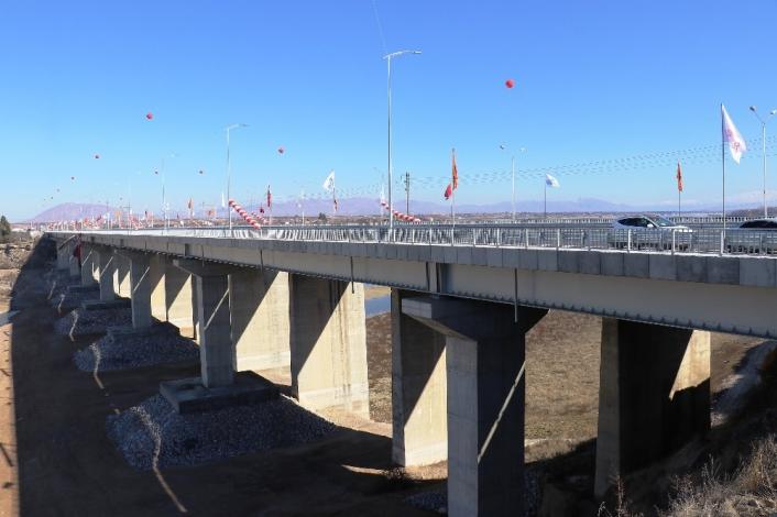 Yeni Tohma köprüsü Cumhurbaşkanı Erdoğan´ın da katılımı ile hizmete açıldı