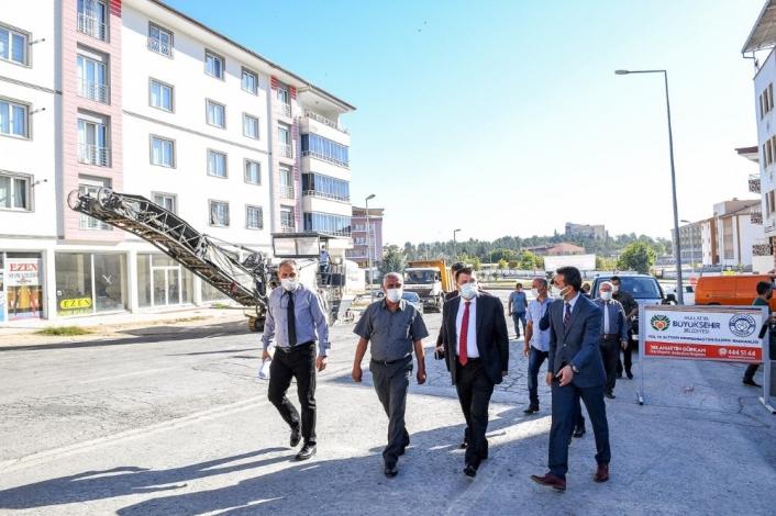 Yeşiltepe Adli Tıp Caddesi yenileniyor