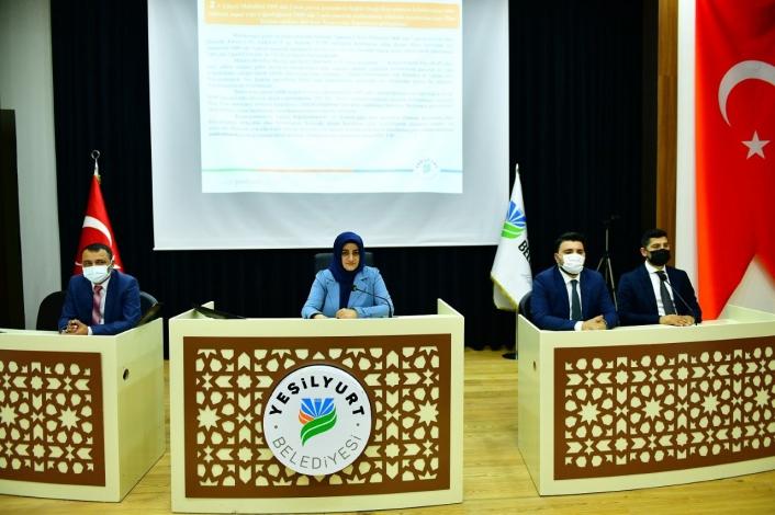 Yeşilyurt Belediye Meclisi, Haziran ayı toplantısını yaptı