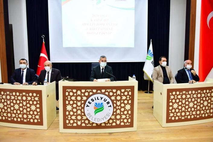 Yeşilyurt Belediye Meclisi Kasım ayı çalışmalarını tamamladı