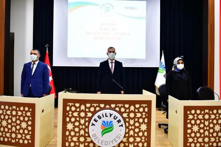Yeşilyurt Belediye Meclisi Mart ayının ilk toplantısını yaptı