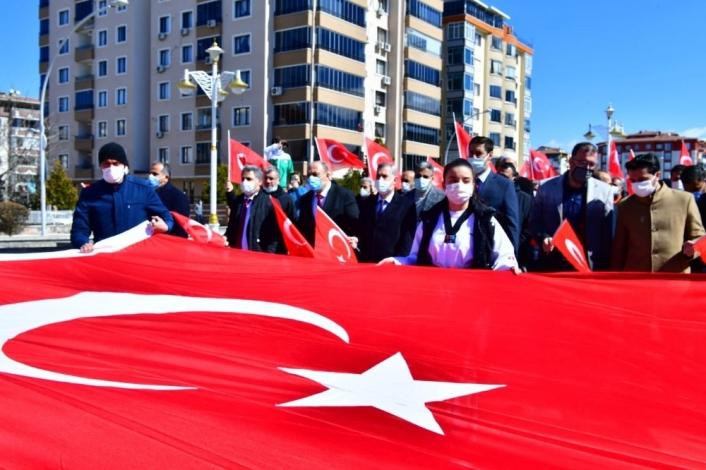 Yeşilyurt Belediyesi´nden İstiklal Marşı etkinliği