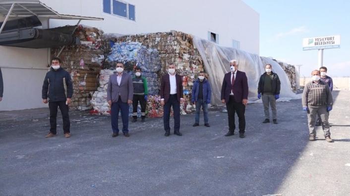 Yeşilyurt´ta 557 ton atık toplandı 9 bin 469 ağacın kesilmesi önlendi