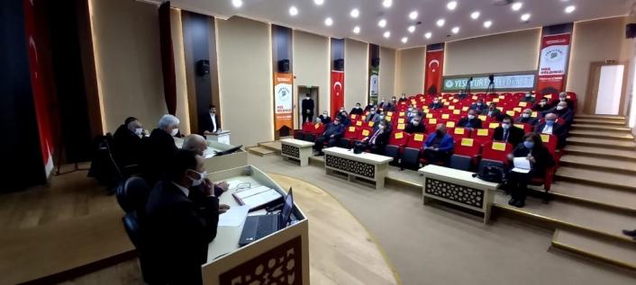 Yeşilyurt´ta Belediye Meclisi şubat ayı toplantısını yaptı