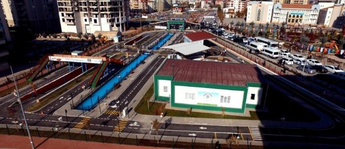 Yeşilyurt ´ta çocuk trafik eğitim parkında 24 bin öğrenciye eğitim