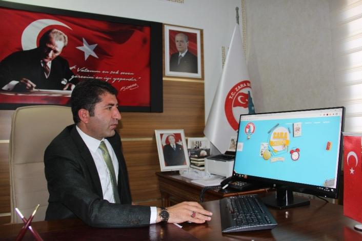 Zaralılar, belediyenin kurduğu internet sitesiyle ücretsiz kitap okuyabilecek