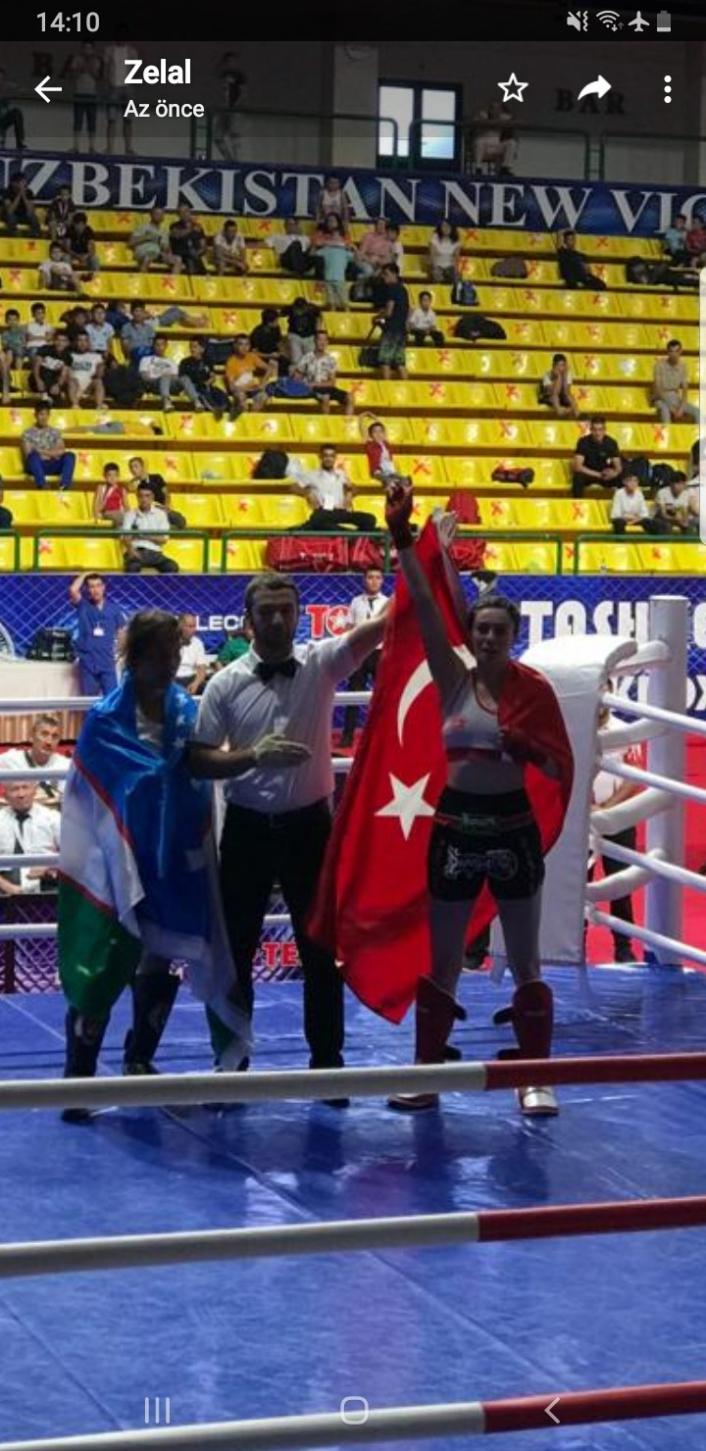 Zelal Şengür, Özbekistan´da altın madalya aldı