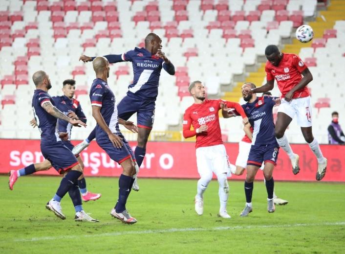 Ziraat Türkiye Kupası: DG Sivasspor: 0 - FTA Antalyaspor: 0 (İlk yarı)
